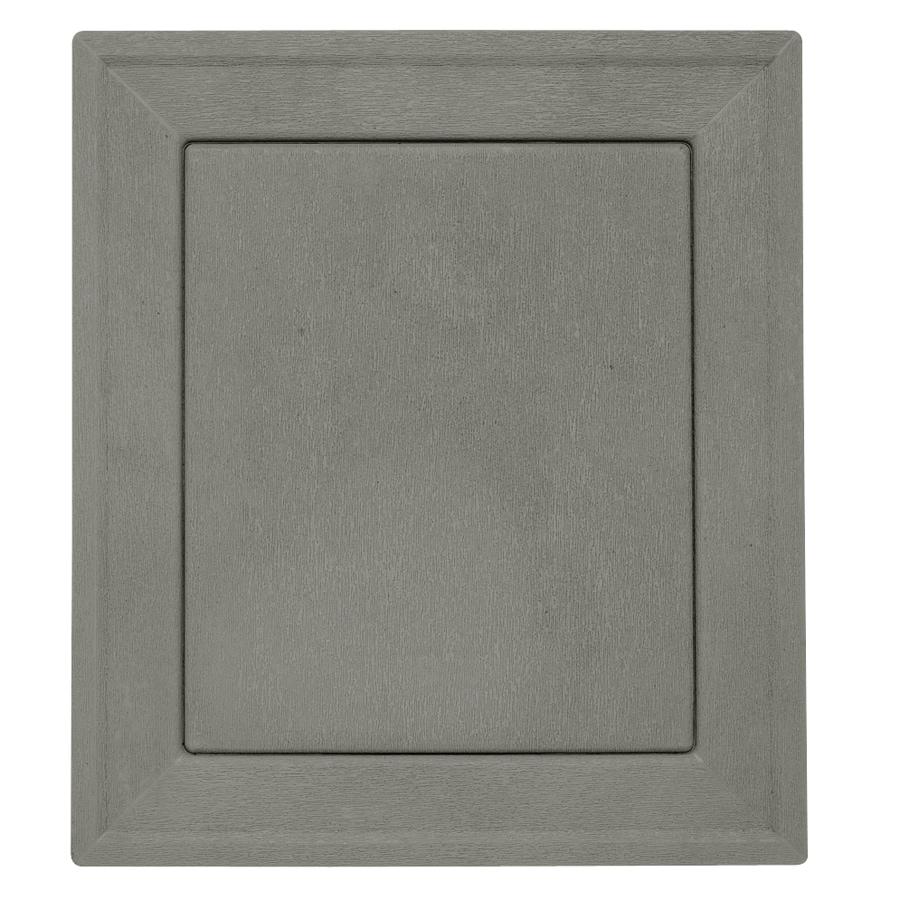 Durabuilt 7.875-in x 8.9375-in Sagebrook/Pebble Vinyl Universal Mounting Block