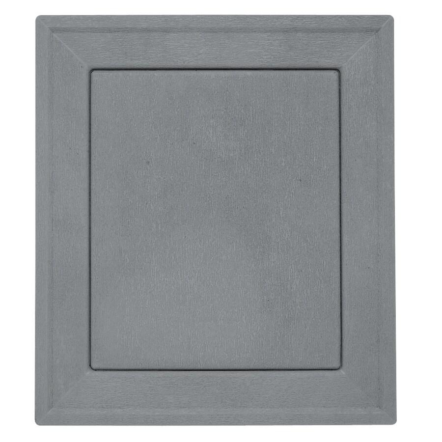 Durabuilt 7.875-in x 8.9375-in Wedgewood/Pebble Vinyl Universal Mounting Block