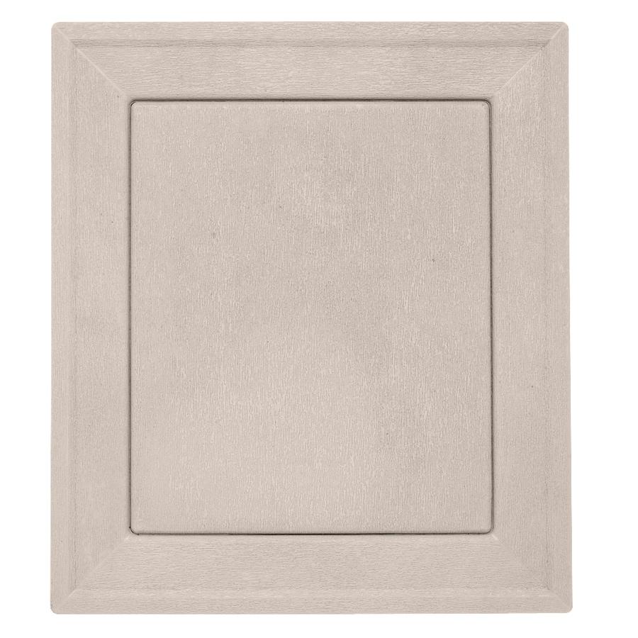 Durabuilt 7.875-in x 8.9375-in Beige/Pebble Vinyl Universal Mounting Block