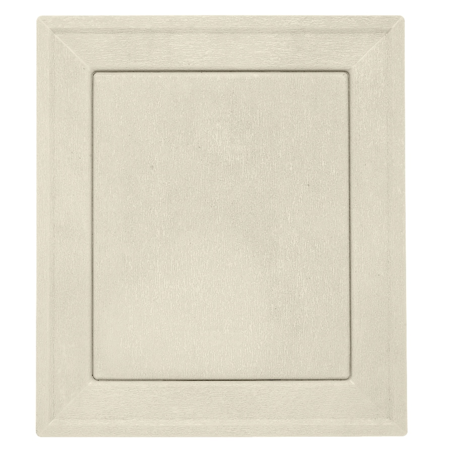 Durabuilt 7.875-in x 8.9375-in Cream/Pebble Vinyl Universal Mounting Block