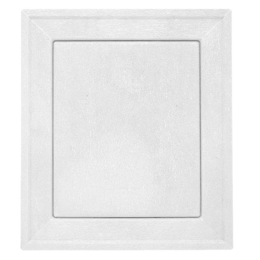 Durabuilt 7.875-in x 8.9375-in White/Pebble Vinyl Universal Mounting Block