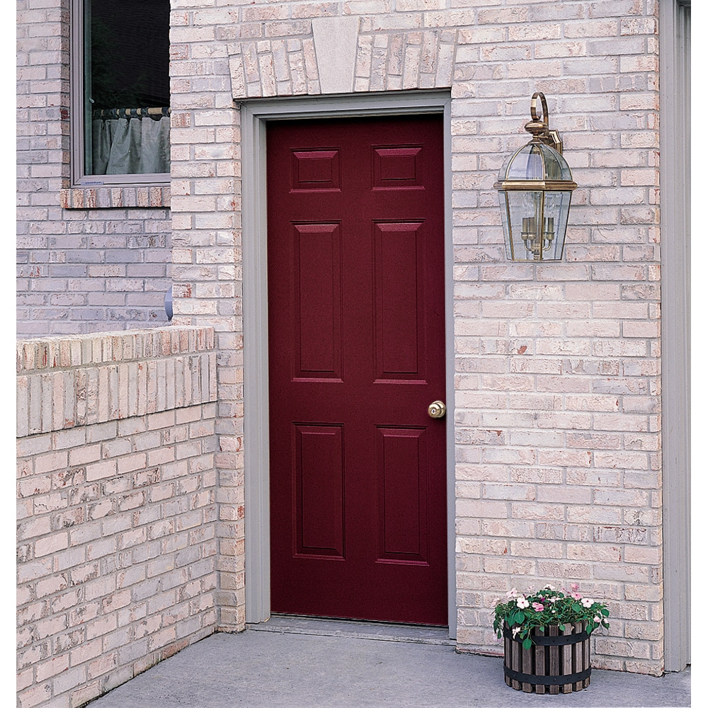 ProSteel 36  6-Panel Right Hand No Brick Mould Steel Door Unit & Shop ProSteel 36