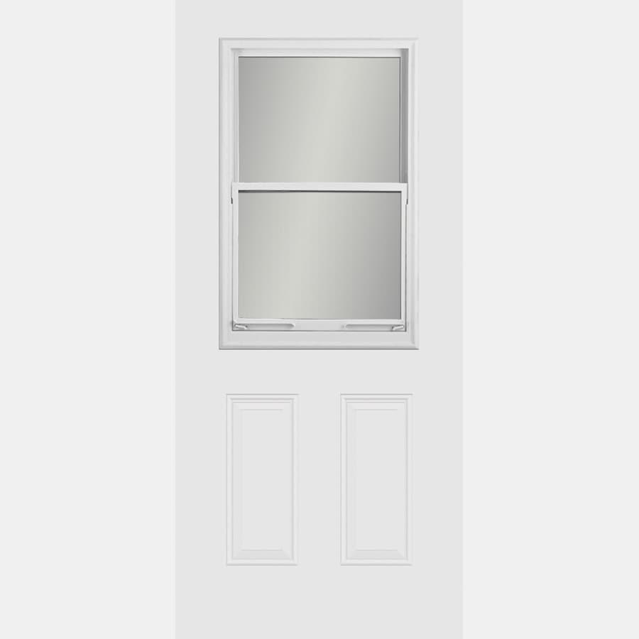 ReliaBilt Half Lite Prehung Inswing Steel Entry Door
