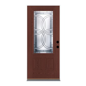 Therma Tru Benchmark Doors 3 4 Lite Entry Doors At Lowes Com