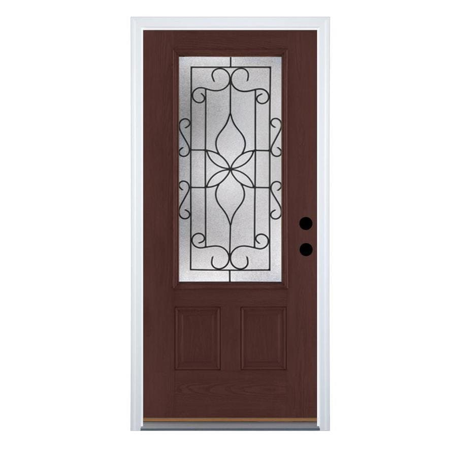 Shop therma tru benchmark doors florentino 2 panel for Therma tru entry doors