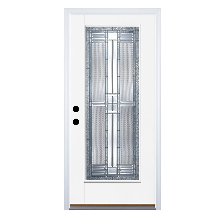 Shop Therma Tru Benchmark Doors DunThorpe Flush Insulating Core Full Lite Lef