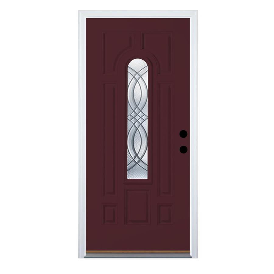 Shop therma tru benchmark doors terracourt decorative for Decorative glass for entry doors