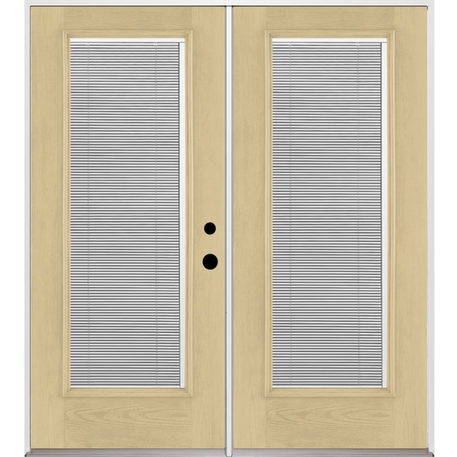 Lowes Therma Tru Patio Doors: Shop Benchmark By Therma-Tru 70.5625-in Blinds Between The