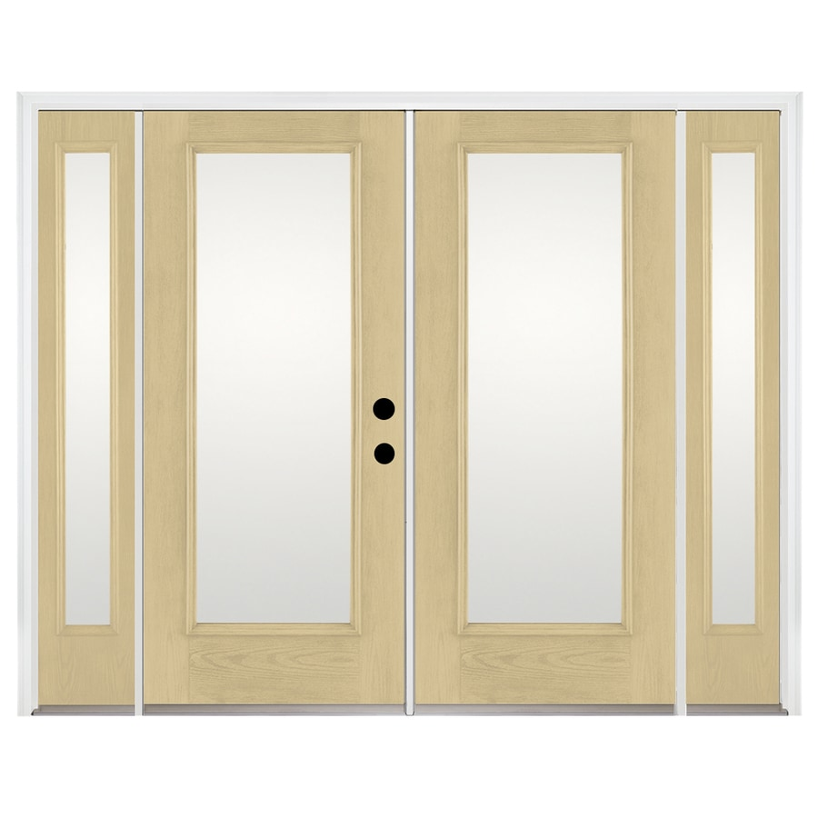 Shop benchmark by therma tru x 79 5 in left for French doors exterior inswing