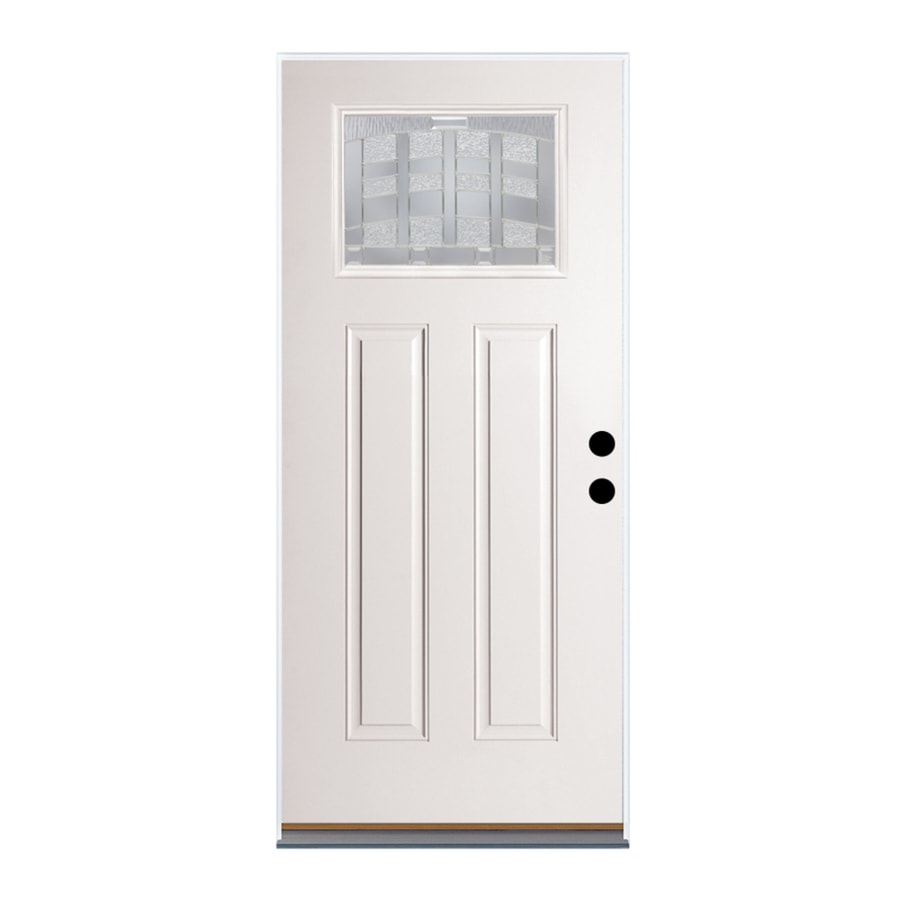 Therma-Tru Benchmark Doors Emerson Right-Hand Outswing Fiberglass Entry Door with Insulating Core (Common: 36-in x 80-in; Actual: 37.5-in x 80.5-in)