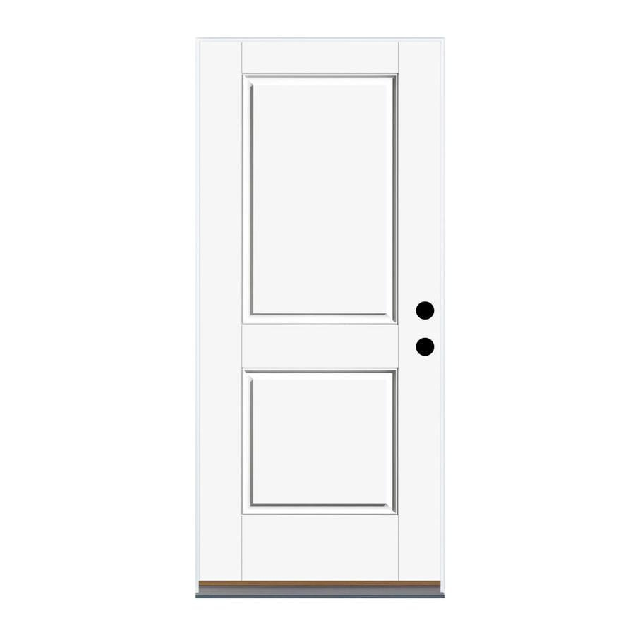 Therma-Tru Benchmark Doors Left-Hand Inswing Fiberglass Entry Door with Insulating Core (Common: 36-in x 80-in; Actual: 37.5-in x 81.5-in)