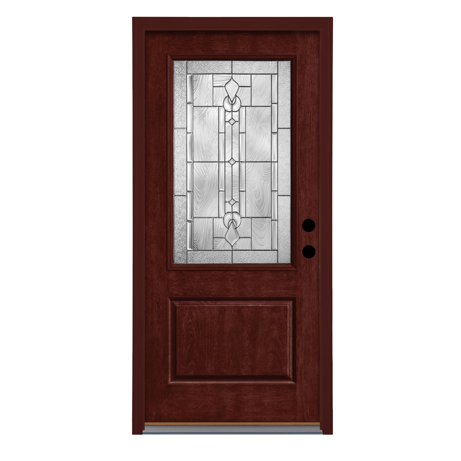 Therma Tru Lucerna 2 3 Lite Decorative Glass Left Hand