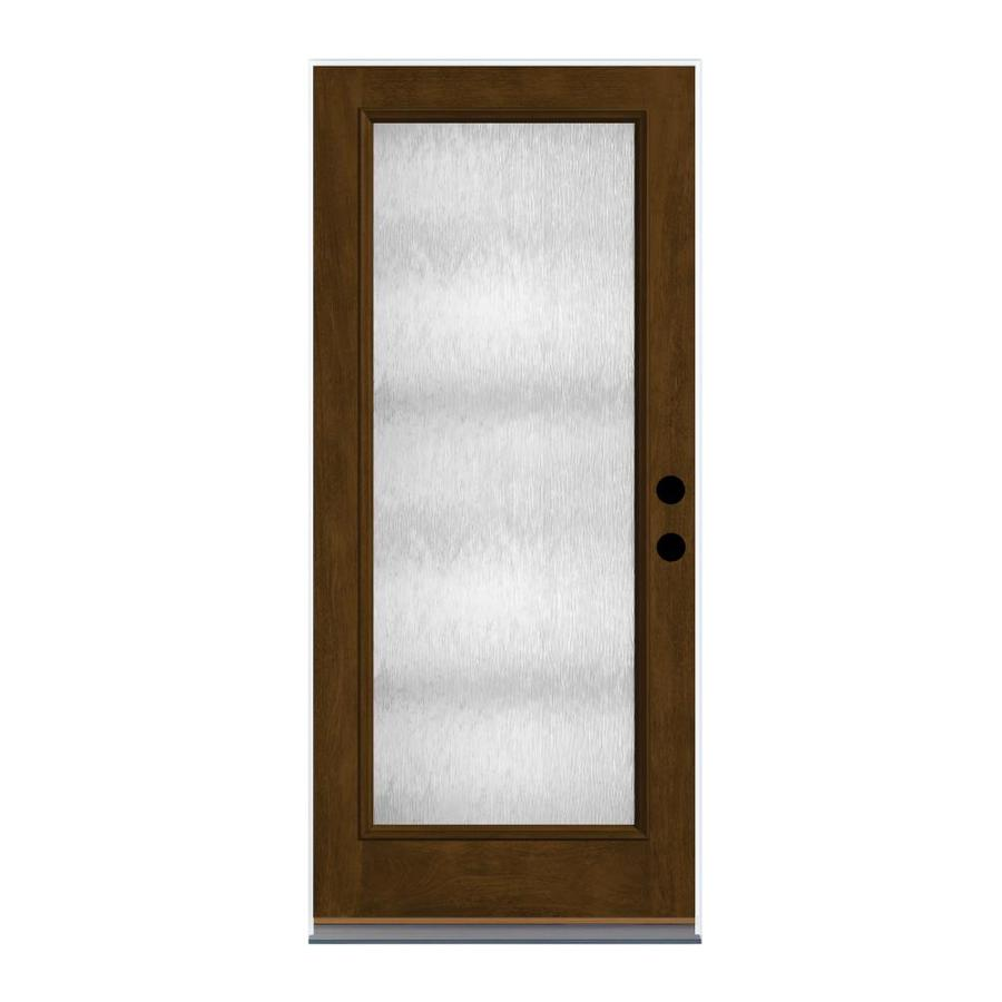 Shop therma tru chord privacy glass right hand outswing for Therma tru fiber classic mahogany price