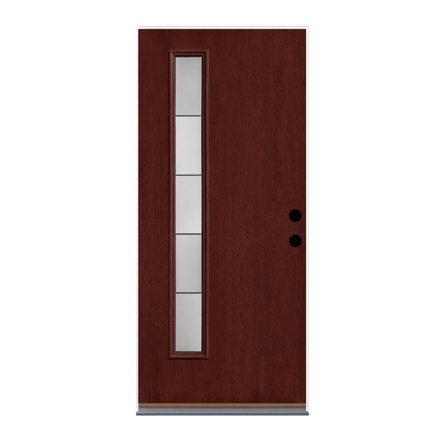 Shop therma tru axis pulse lite decorative glass left hand for Therma tru pulse