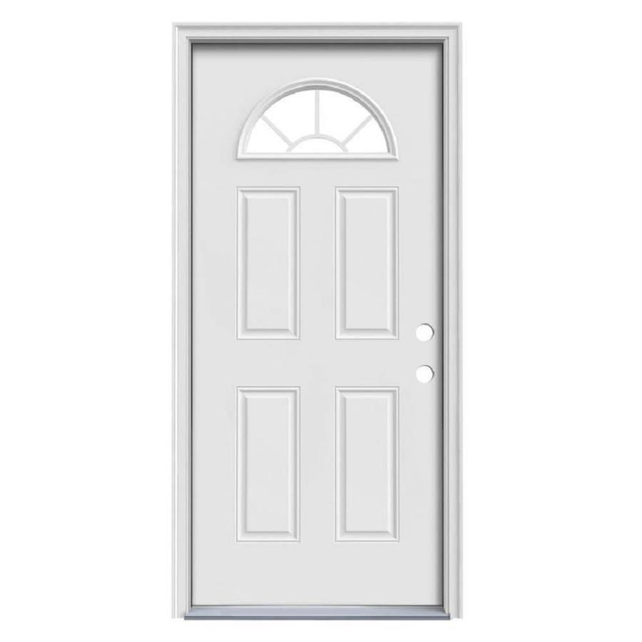 Shop Therma Tru Benchmark Doors Sunburst 14 Lite Decorative Glass