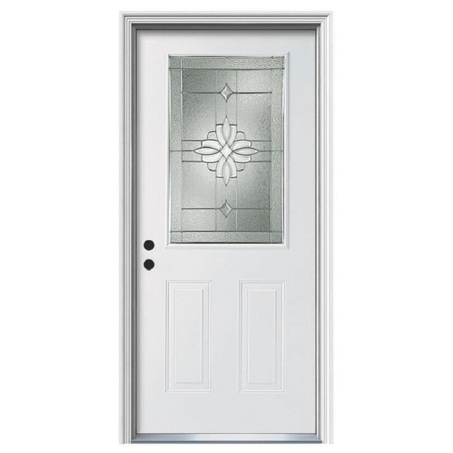 Therma-Tru Benchmark Doors Laurel Half Lite Decorative