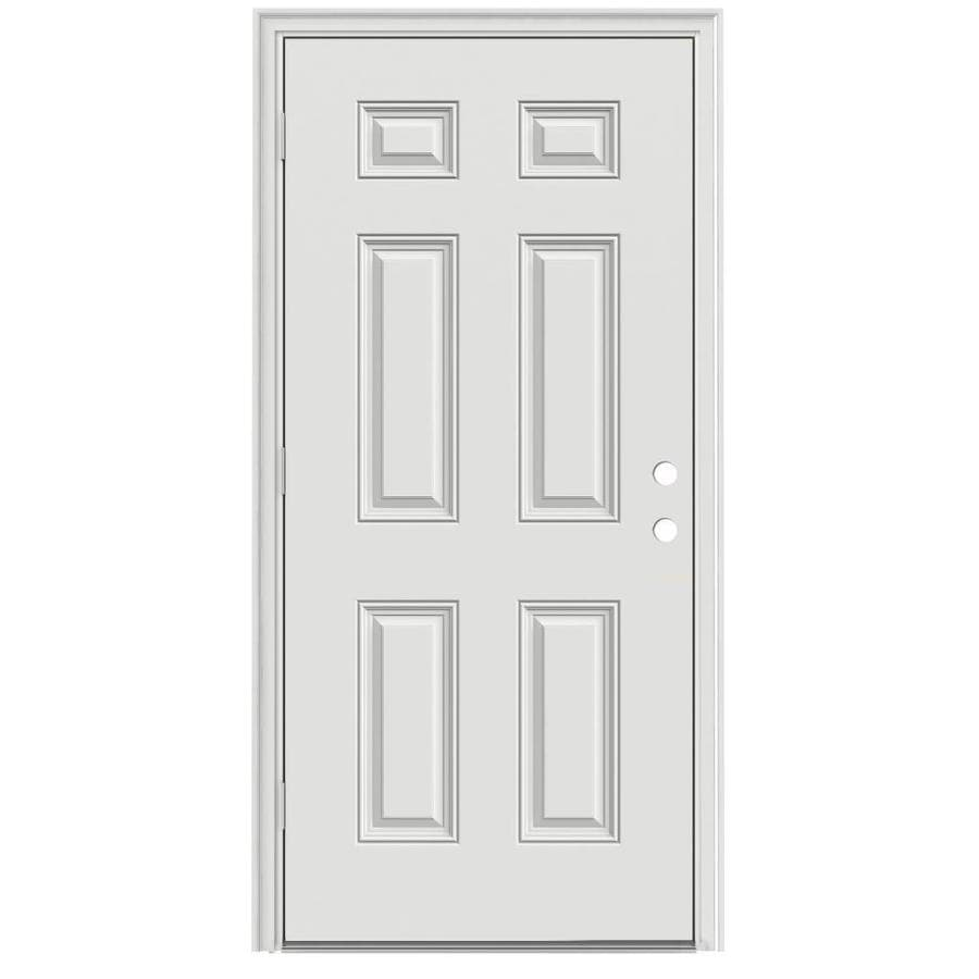 Shop Therma Tru Benchmark Doors Right Hand Outswing Ready To Paint