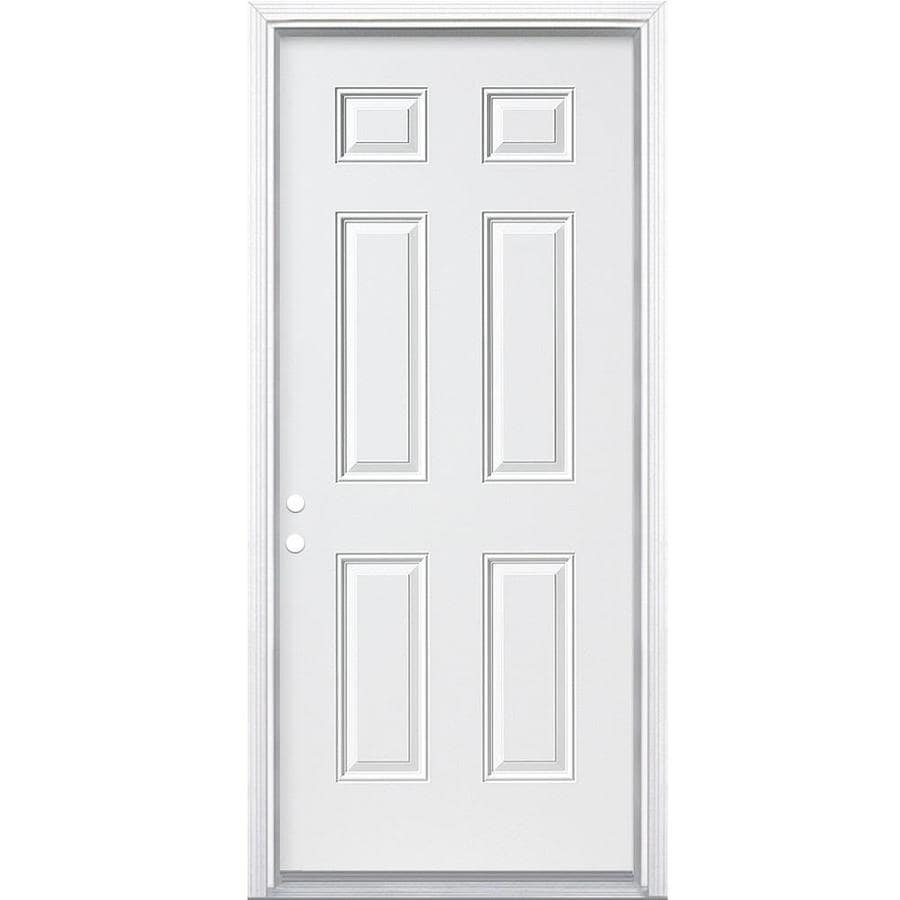 Shop Therma-Tru Benchmark Doors Right-Hand Inswing Ready to Paint ...