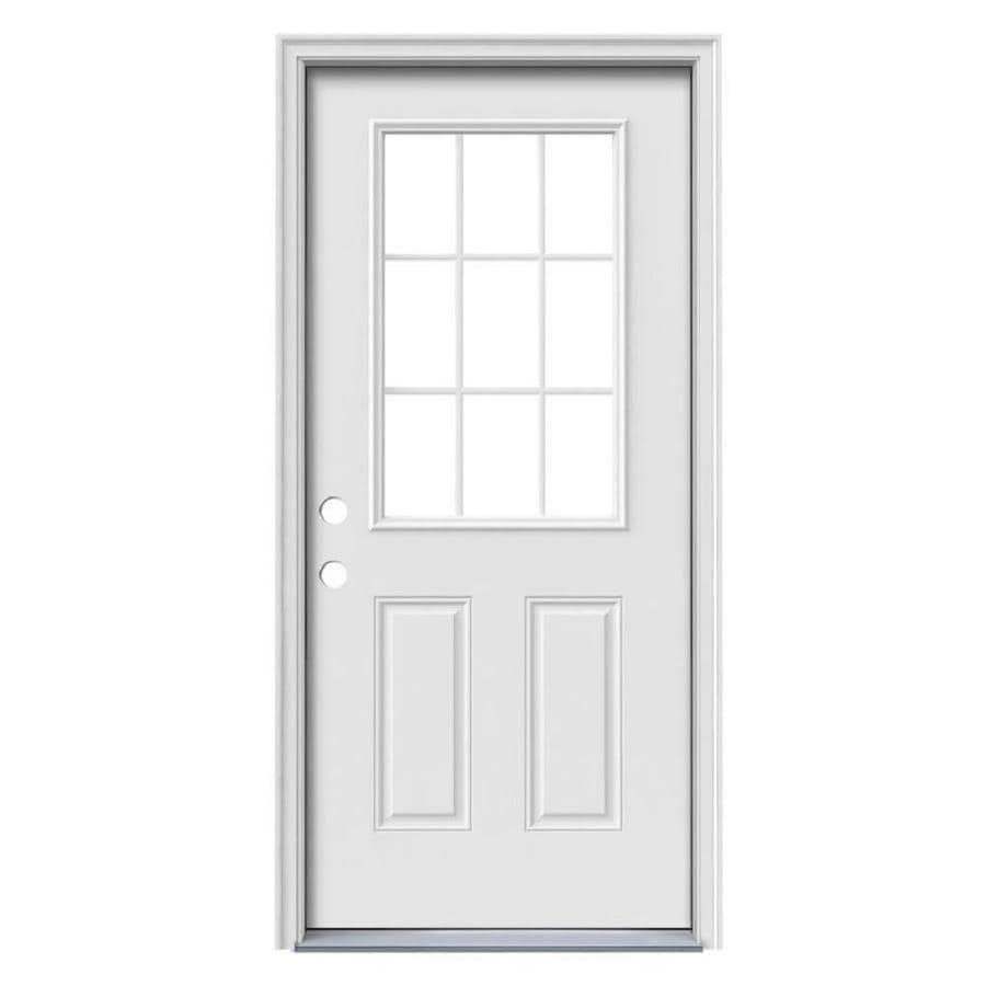 therma tru benchmark doors half lite simulated divided