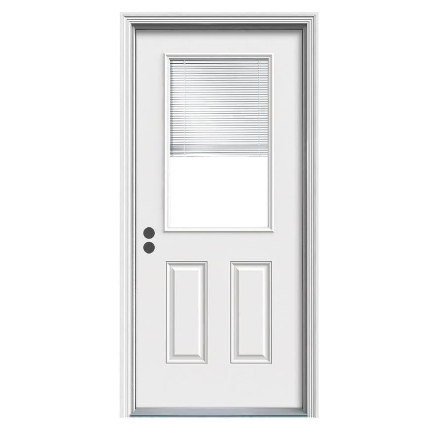 Shop therma tru benchmark doors half lite blinds between the glass therma tru benchmark doors half lite blinds between the glass right hand inswing ready eventshaper