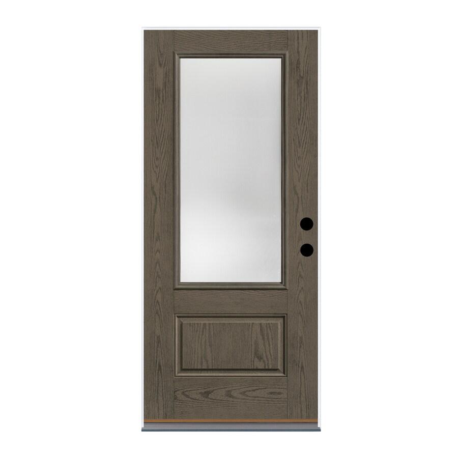 Prime Therma Tru Benchmark Doors Reed 3 4 Lite Privacy Glass Door Handles Collection Olytizonderlifede