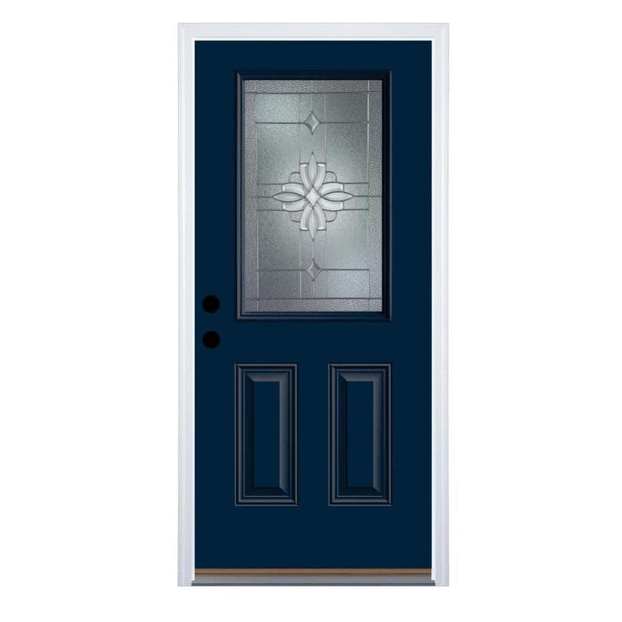 Therma Tru Benchmark Doors Laurel Half Lite Decorative