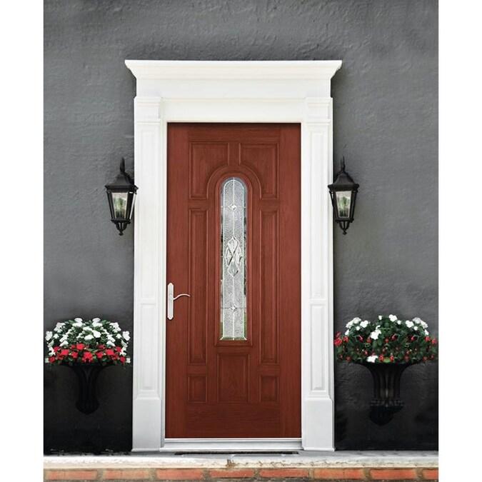 Peachy Therma Tru Benchmark Doors Willowbrook Center Arch Lite Door Handles Collection Olytizonderlifede