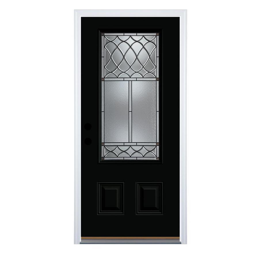 Strange Therma Tru Benchmark Doors Sheldon 3 4 Lite Decorative Door Handles Collection Olytizonderlifede