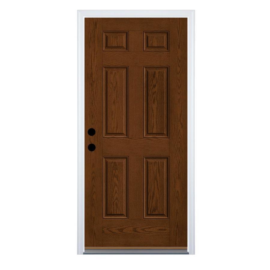 Therma Tru Benchmark Doors Right Hand Inswing Walnut