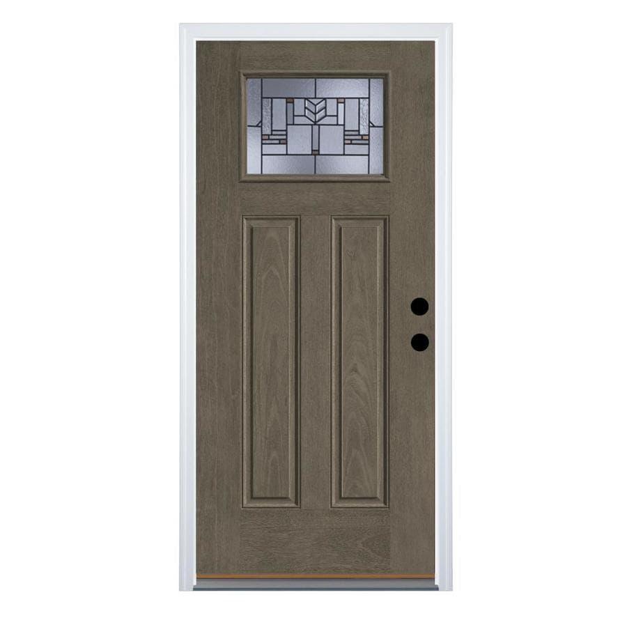 Peachy Therma Tru Benchmark Doors Leighton Craftsman Decorative Door Handles Collection Olytizonderlifede