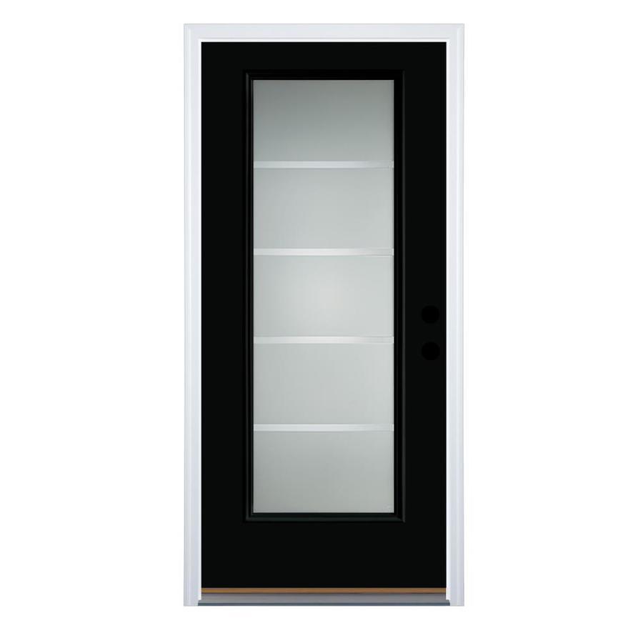 Therma Tru Benchmark Doors Crosslines Full Lite Decorative