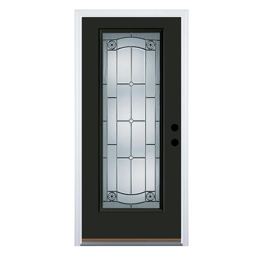Therma Tru Benchmark Doors Elan Full Lite Decorative Glass