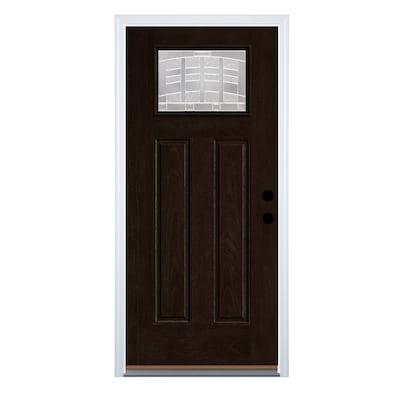 Fiberglass Black Front Doors At Lowes Com Exterior doors compliment your home's exterior with entry doors, patio doors, screen and security doors and discover our selection of storm doors, and patio doors, both stock pieces and custom options. fiberglass black front doors at lowes com
