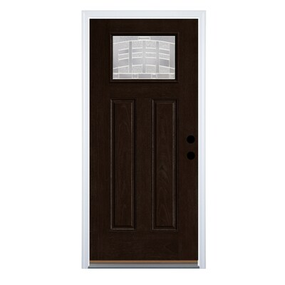 Black Craftsman Front Doors At Lowes Com Patio doors with built in dog door. black craftsman front doors at lowes com