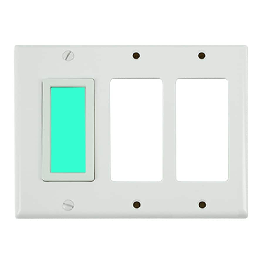 Shop LimeLite White Electroluminescent Night Light at Lowes.com
