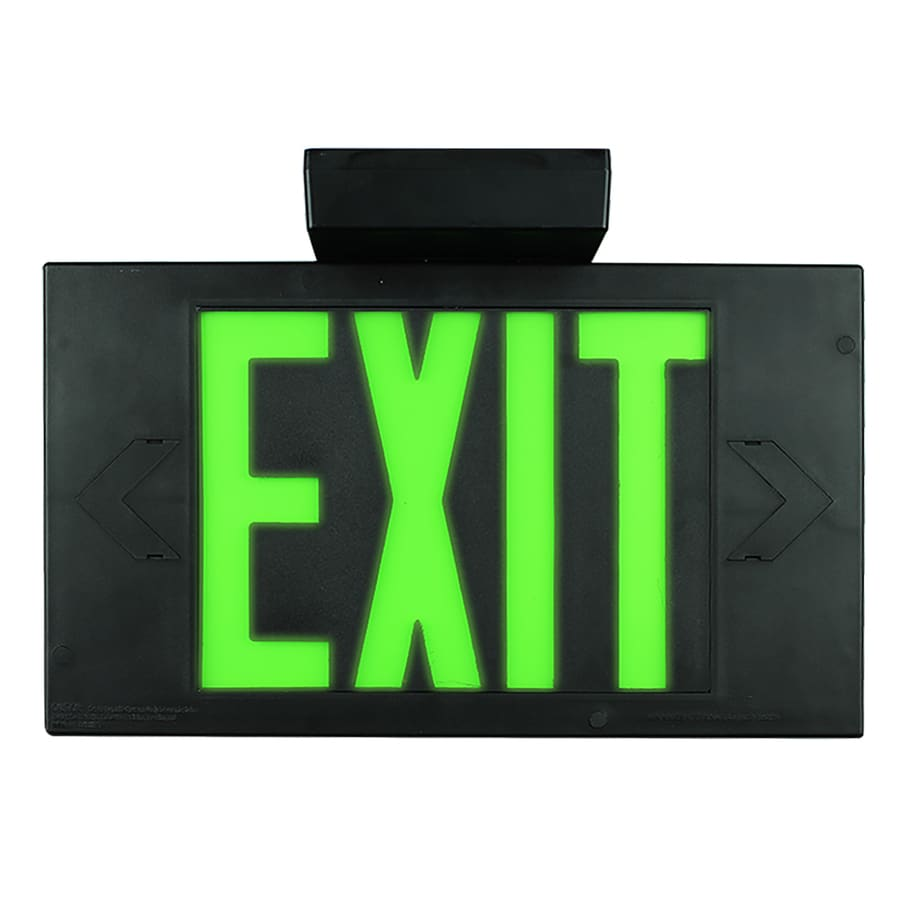 LimeLite Green Electroluminescent Hardwired Exit Light