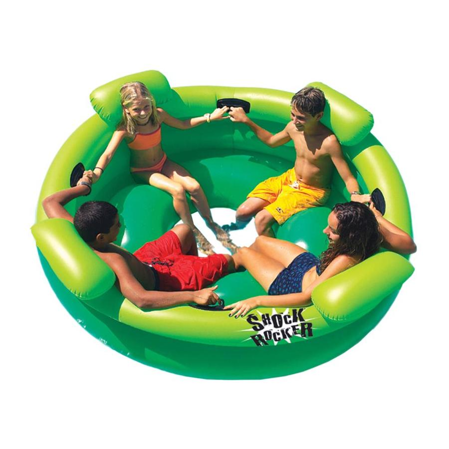 Swimline Shock Rocker 4-Seat Green Inflatable Raft