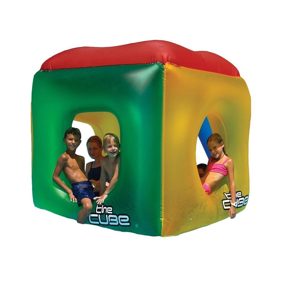 Swimline The Cube 5-Seat Red/Yellow/Blue Inflatable Ride-On