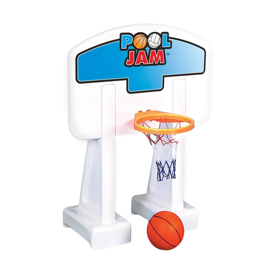 Shop Swimline White Swimming Pool Volleyball Basketball Set At