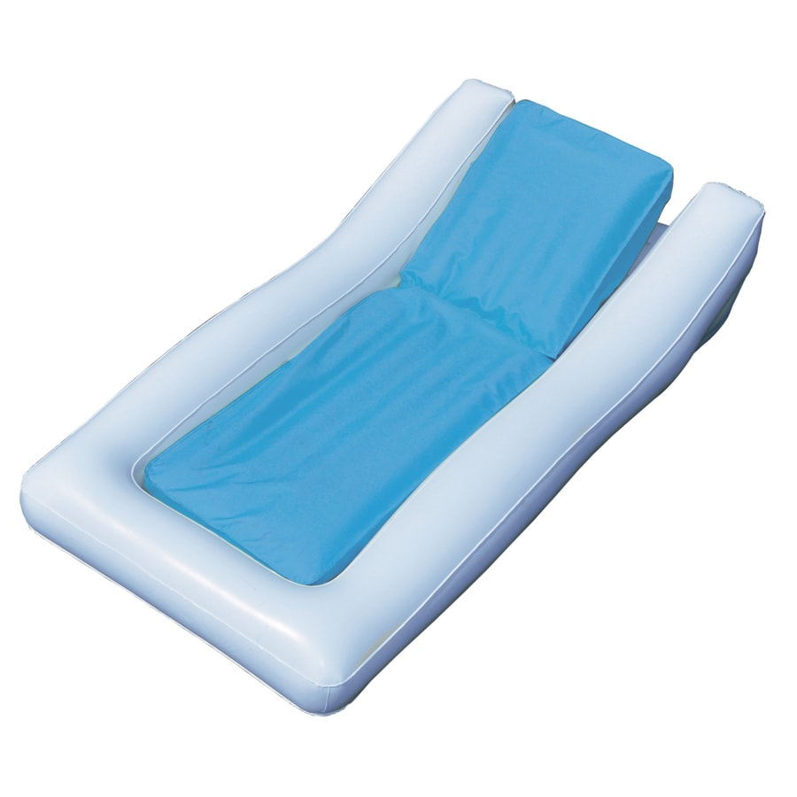 Swimline Sunsoft Hybrid White/Blue Inflatable Lounger
