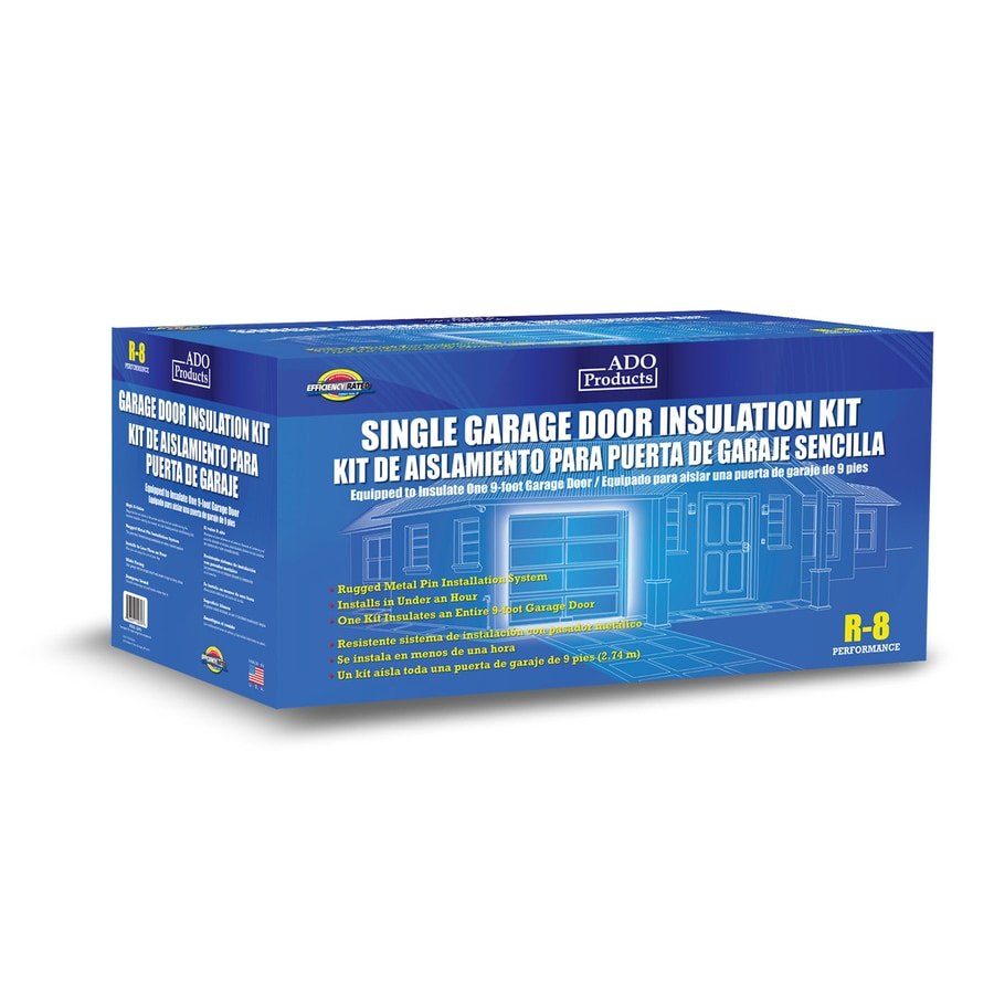 lowes garage door insulationShop ADO Products Garage Door Insulation Single Kit at Lowescom
