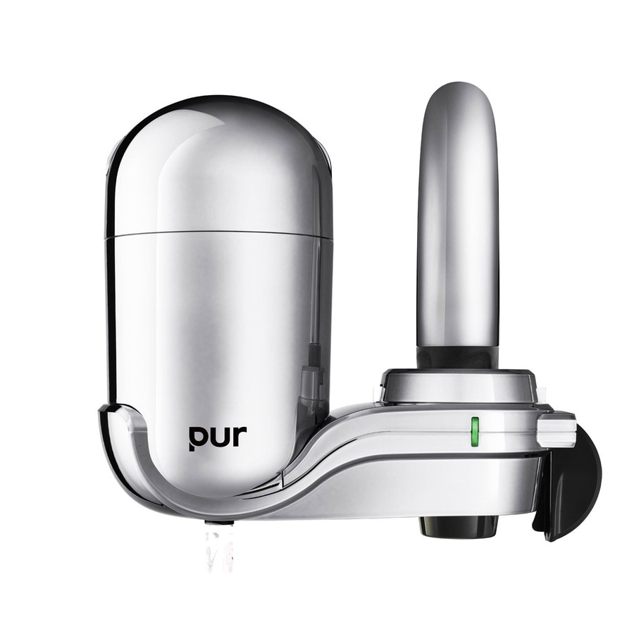 Shop pur x x faucet mount complete filtration system at - Lowes water filter under sink ...