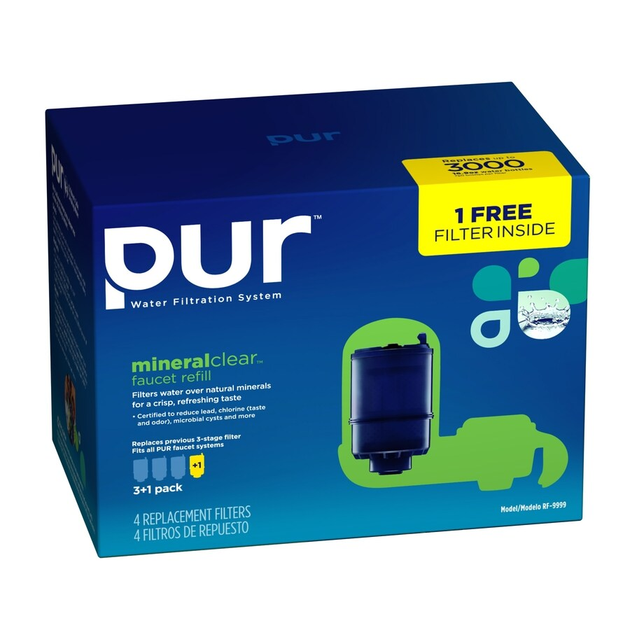 Shop PUR 3-Pack Replacement Water Filter at Lowes.com