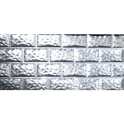 50-Pack 28-in x 5-ft Galvanized Metal Skirting Panels at