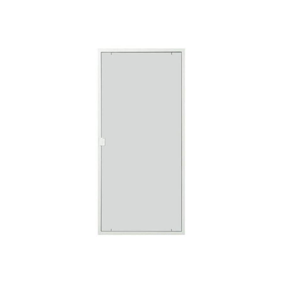 ThermaStar By Pella White Vinyl Sliding 5 Bar Screen Door (Common: 72
