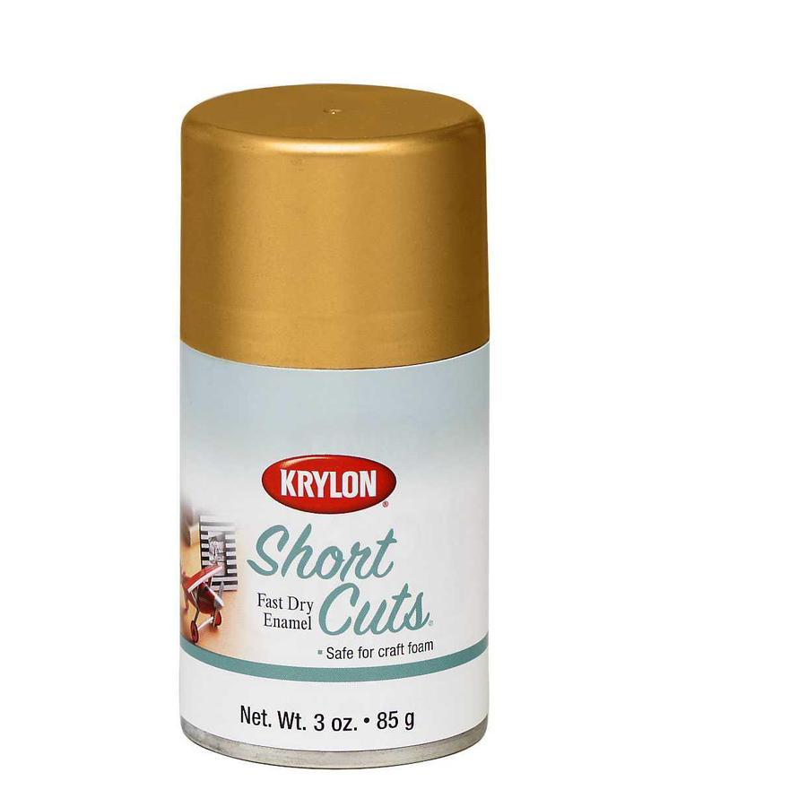 krylon 3 oz gold leaf gloss spray paint