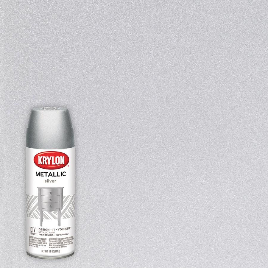 Krylon Metallic Silver Metallic Lacquer 11-oz