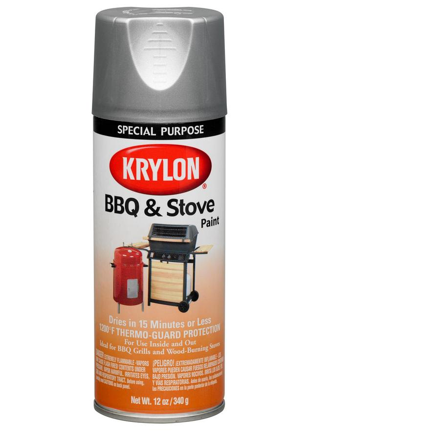 Krylon High Heat Aluminum Enamel Spray Paint (Actual Net Contents: 12-oz)