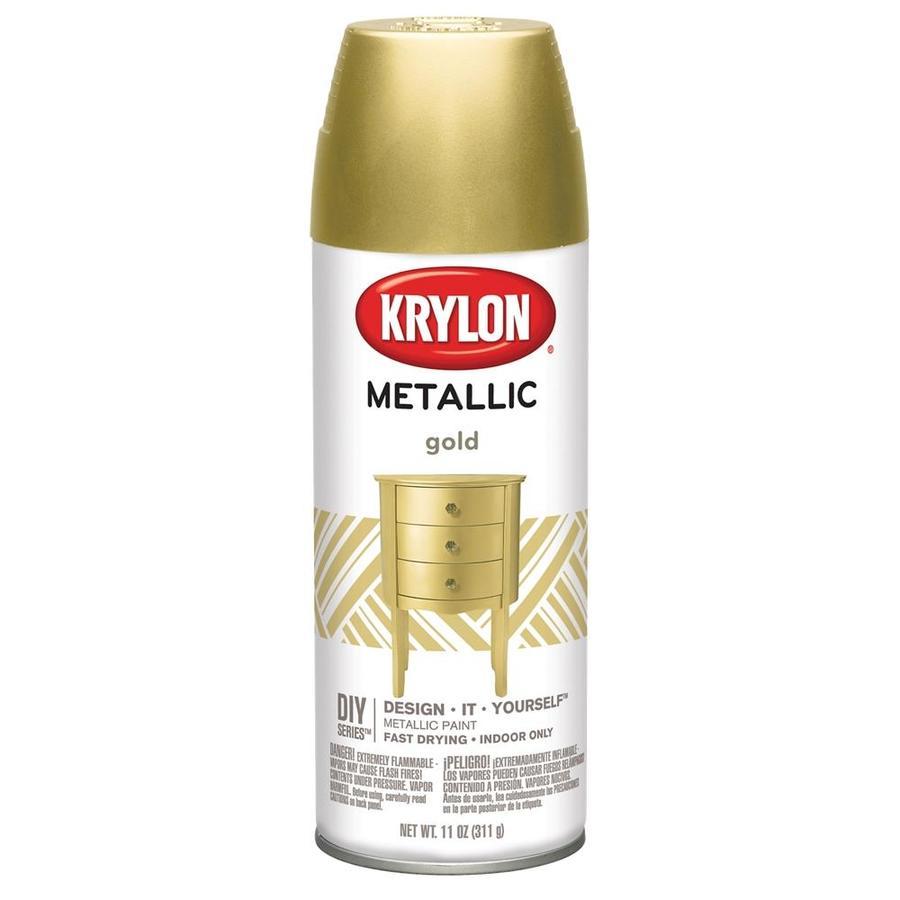 Krylon Gold Metallic Metallic Lacquer 11-oz