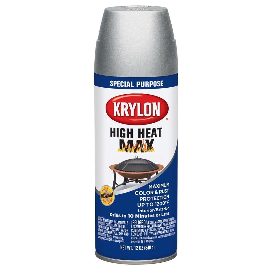 Krylon High Heat Aluminum Enamel Spray Paint (Actual Net Contents: 12-oz)